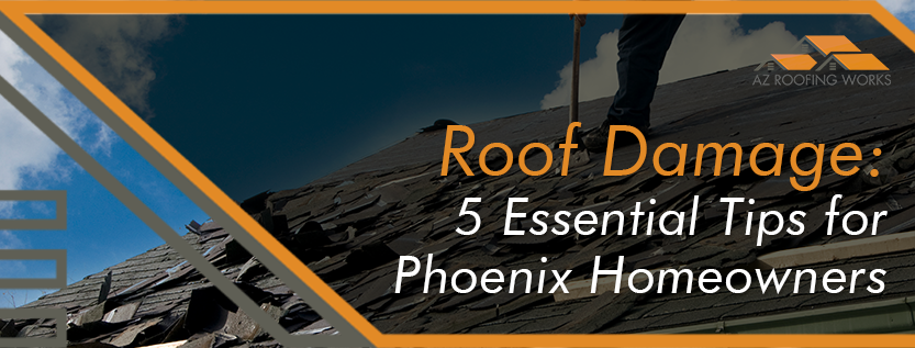 Roof Damage Tips