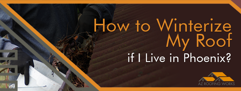 How to Winterize My Roof