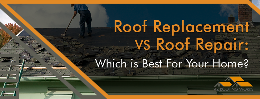 Roof Replacement or Roof Repair