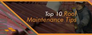 Top Roof Maintenance Tips