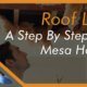 Roof Leaking Guide For Mesa AZ Homeowners