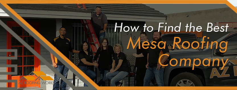 The Best Mesa Roofing Company